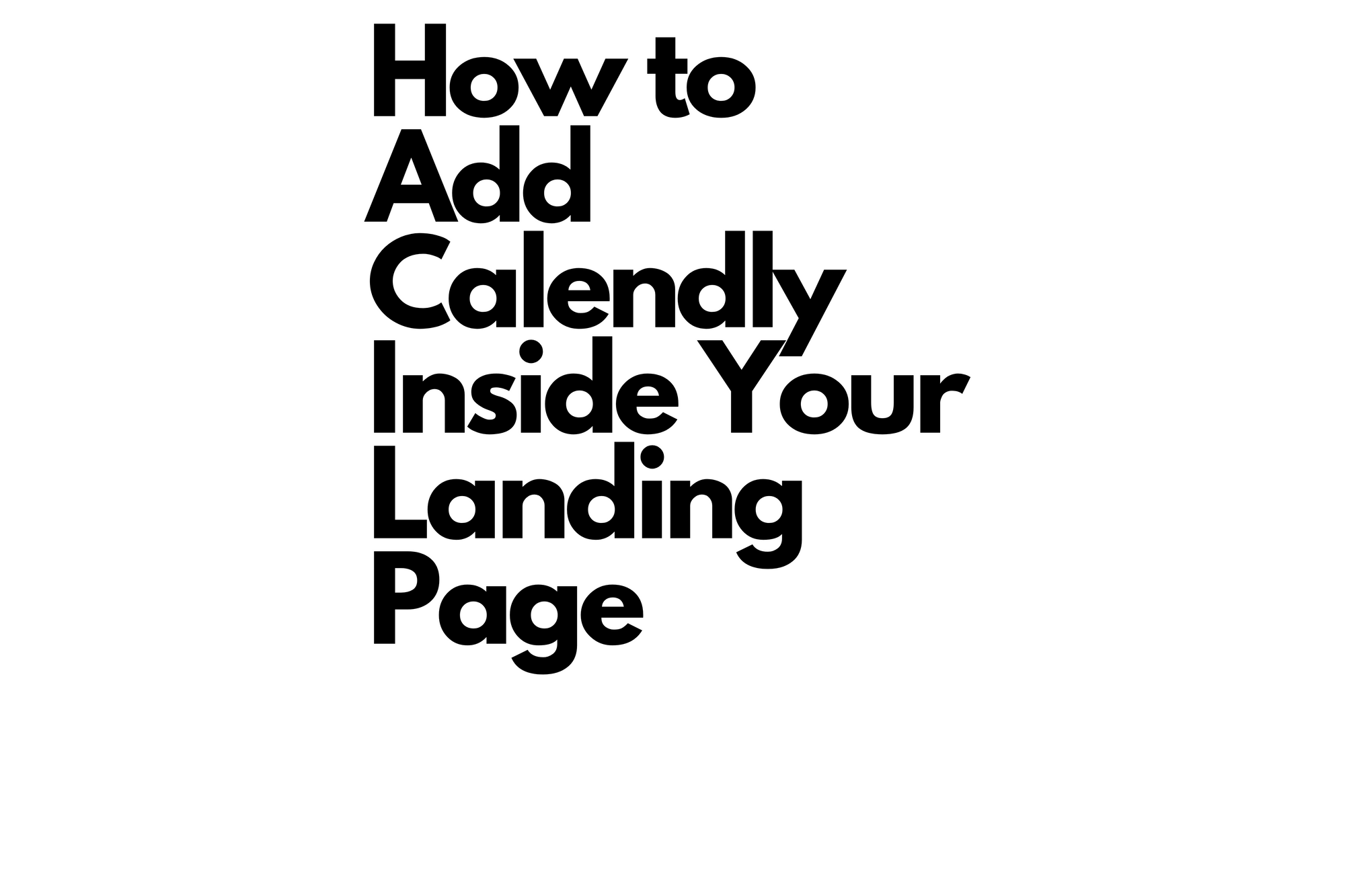 Calendly-Landing-Page