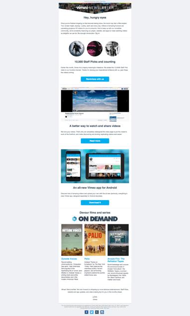 film email marketing