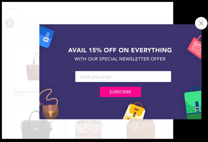 SendX newsletter offer