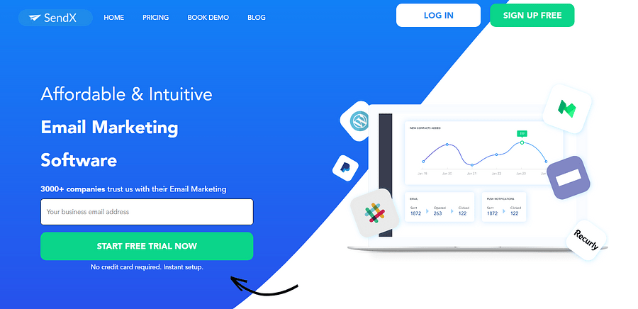 best e-commerce tool SendX
