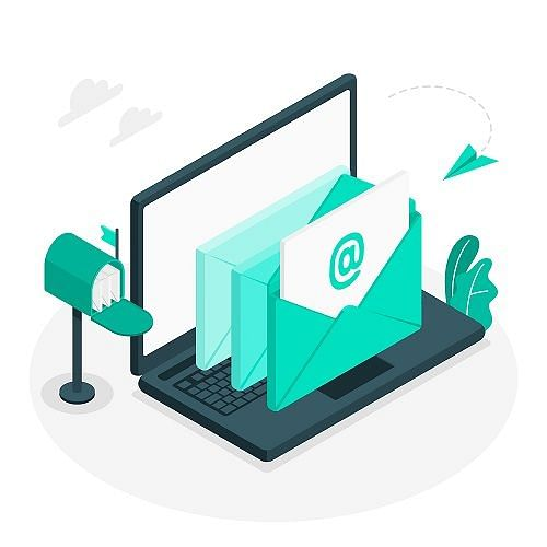 Email is an ideal way to interact with customers