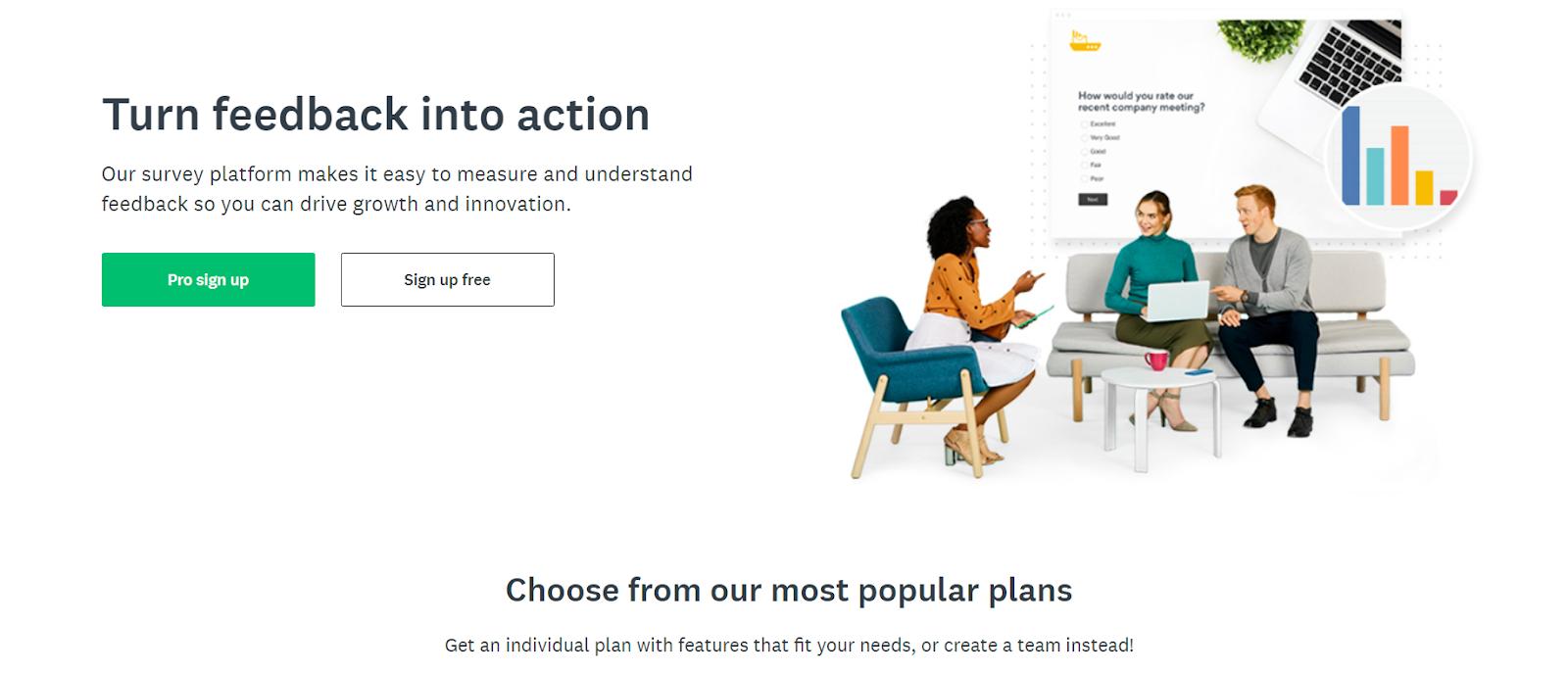 SurveyMonkey as an ecommerce tools