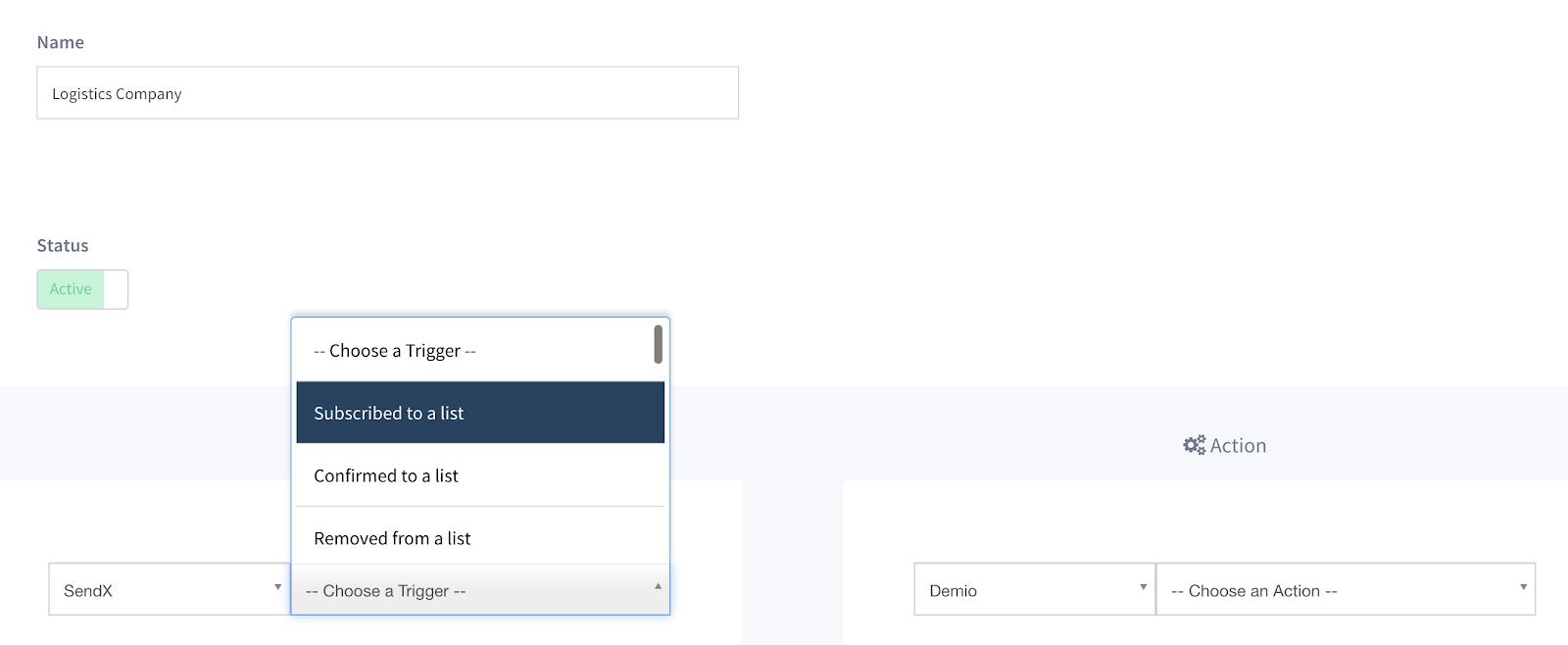 Email marketing for Logistics_SendX