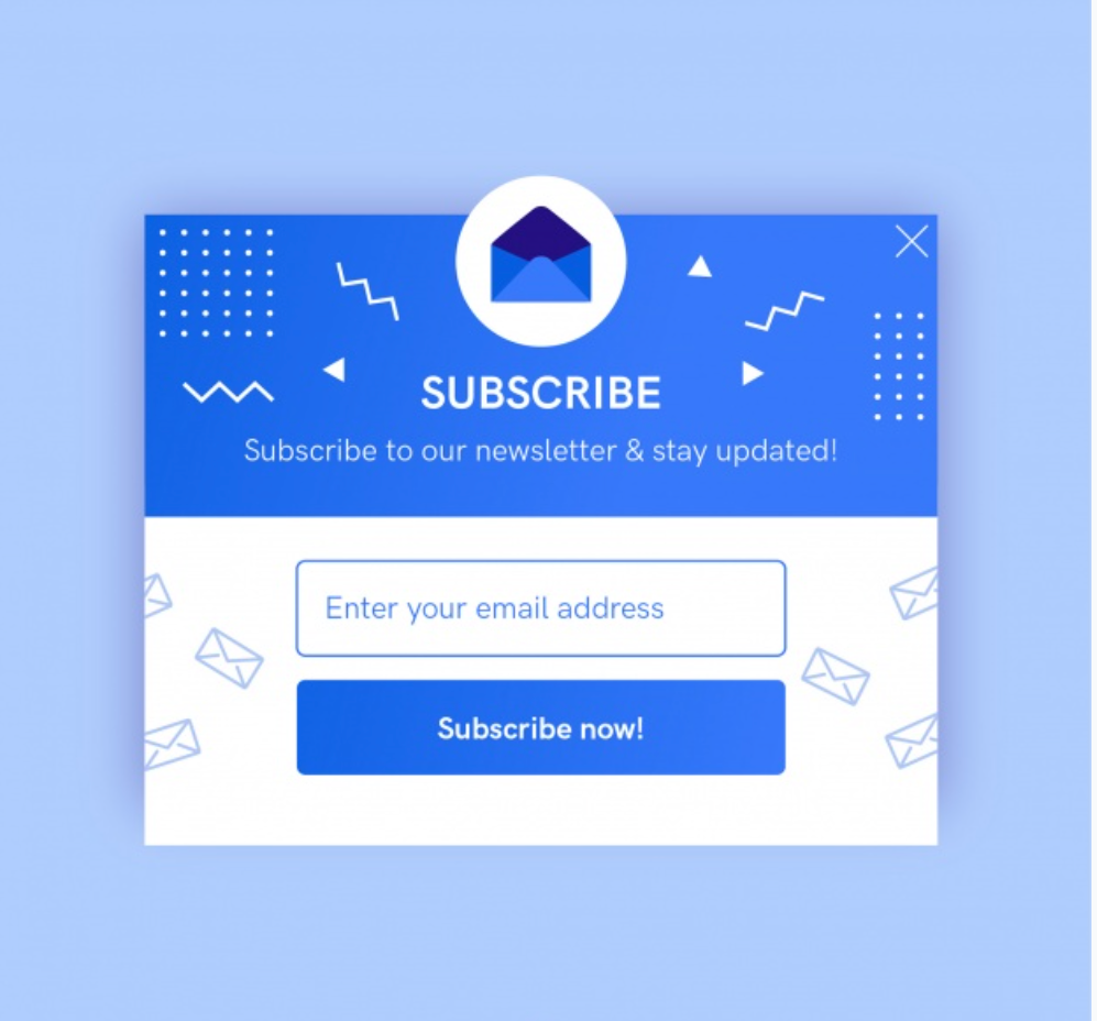 Use subscription form correctly